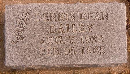 BAILEY, DENNIS DEAN - Dallas County, Iowa | DENNIS DEAN BAILEY