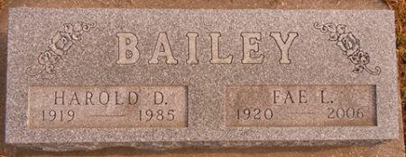 BAILEY, HAROLD D. - Dallas County, Iowa | HAROLD D. BAILEY