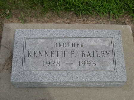 BAILEY, KENNETH F. - Dallas County, Iowa | KENNETH F. BAILEY