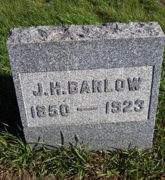 BARLOW, J H - Dallas County, Iowa   J H BARLOW