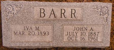 BARR, JOHN A. - Dallas County, Iowa | JOHN A. BARR