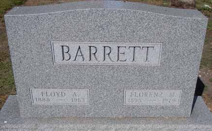 BARRETT, FLORENCE M - Dallas County, Iowa | FLORENCE M BARRETT
