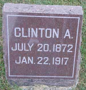BARTLETT, CLINTON A - Dallas County, Iowa | CLINTON A BARTLETT