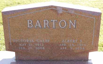 BARTON, ALBERT S - Dallas County, Iowa   ALBERT S BARTON