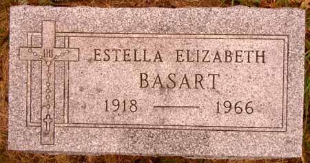 BASART, ESTELLA ELIZABETH - Dallas County, Iowa | ESTELLA ELIZABETH BASART