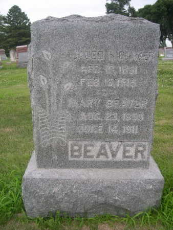 BEAVER, MARY - Dallas County, Iowa | MARY BEAVER