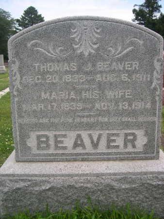 BEAVER, THOMAS J. - Dallas County, Iowa | THOMAS J. BEAVER