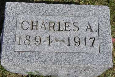 BECKER, CHARLES A - Dallas County, Iowa | CHARLES A BECKER
