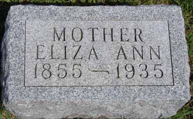 BECKER, ELIZA ANN - Dallas County, Iowa | ELIZA ANN BECKER