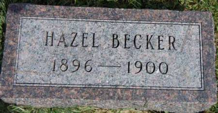 BECKER, HAZEL - Dallas County, Iowa | HAZEL BECKER