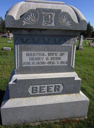BEER, MARTHA - Dallas County, Iowa   MARTHA BEER