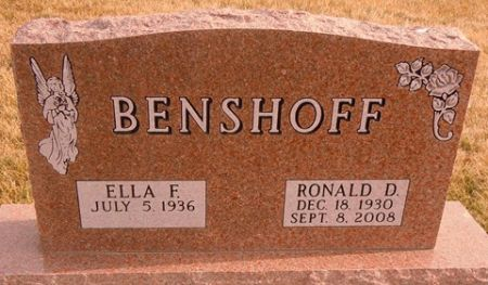 BENSHOFF, RONALD D. - Dallas County, Iowa | RONALD D. BENSHOFF