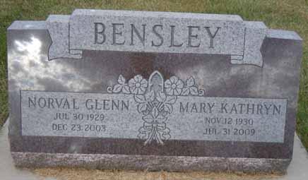 BENSLEY, NORVAL GLENN - Dallas County, Iowa | NORVAL GLENN BENSLEY