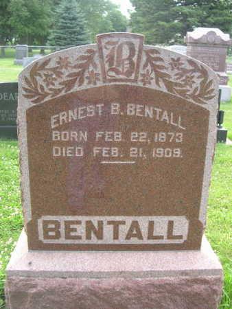 BENTALL, ERNETS - Dallas County, Iowa   ERNETS BENTALL