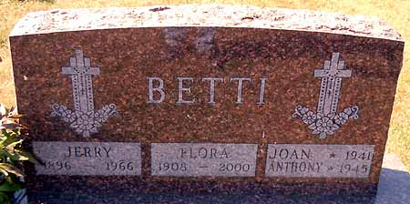 BETTI, JERRY - Dallas County, Iowa | JERRY BETTI