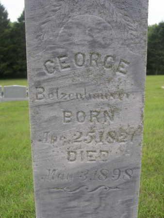 BETZENHOUSER, GEORGE - Dallas County, Iowa | GEORGE BETZENHOUSER