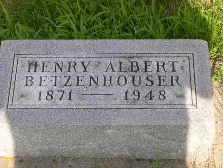 BETZENHOUSER, HENRY ALBERT - Dallas County, Iowa | HENRY ALBERT BETZENHOUSER
