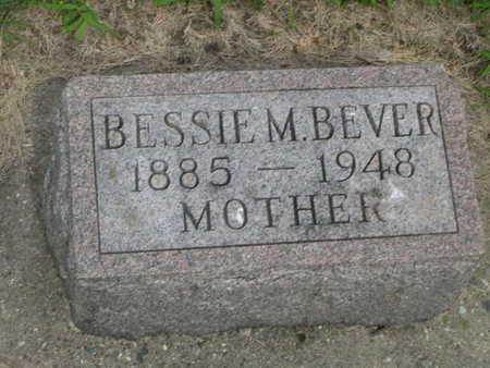 BEVER, BESSIE M. - Dallas County, Iowa | BESSIE M. BEVER