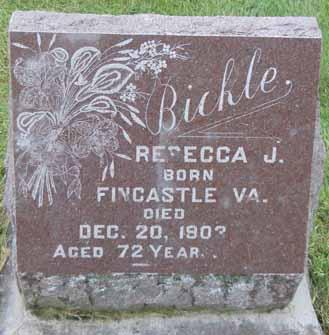 BICKLE, REBECCA J - Dallas County, Iowa   REBECCA J BICKLE