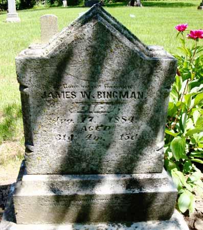 BINGMAN, JAMES W - Dallas County, Iowa | JAMES W BINGMAN