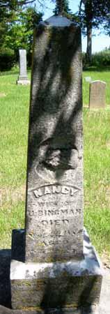 BINGMAN, NANCY - Dallas County, Iowa | NANCY BINGMAN