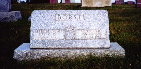HILL BORST, BLANCHE - Dallas County, Iowa | BLANCHE HILL BORST