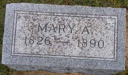 BOWMAN, MARY A - Dallas County, Iowa | MARY A BOWMAN