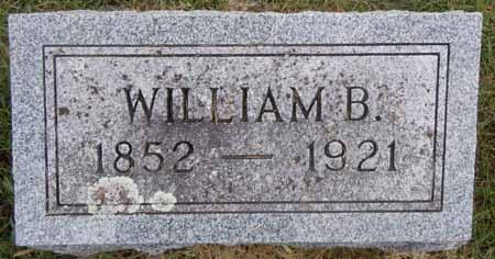 BOWMAN, WILLIAM B - Dallas County, Iowa   WILLIAM B BOWMAN