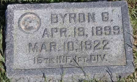 BOYD, BYRON G - Dallas County, Iowa   BYRON G BOYD