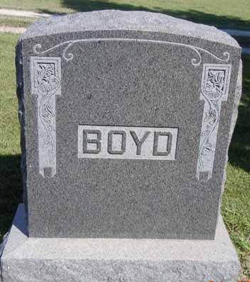 BOYD, FAMILY STONE - Dallas County, Iowa   FAMILY STONE BOYD