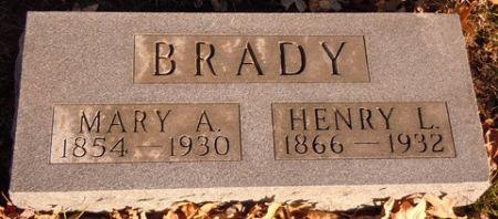 BRADY, HENRY L. - Dallas County, Iowa | HENRY L. BRADY