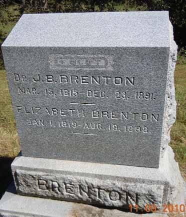 BRENTON, ELIZABETH - Dallas County, Iowa | ELIZABETH BRENTON