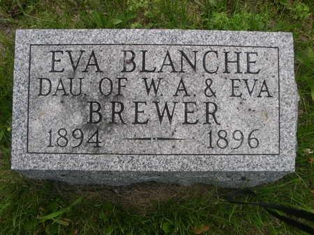 BREWER, EVA BLANCH - Dallas County, Iowa   EVA BLANCH BREWER