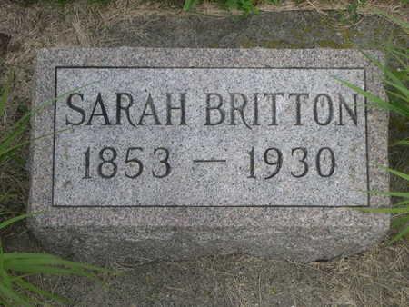 BRITTON, SARAH - Dallas County, Iowa | SARAH BRITTON