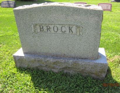 BROCK, FAMILY STONE - Dallas County, Iowa | FAMILY STONE BROCK