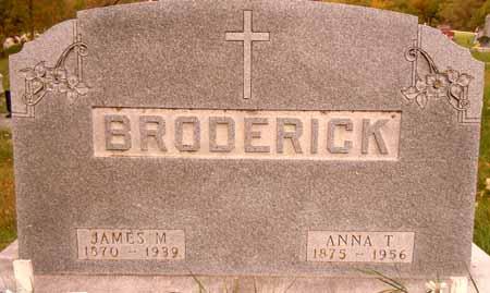 BRODERICK, ANNA T. - Dallas County, Iowa | ANNA T. BRODERICK
