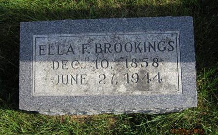 BROOKINGS, ELLA F - Dallas County, Iowa   ELLA F BROOKINGS