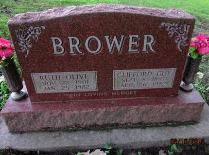 BROWER, RUTH OLIVE - Dallas County, Iowa | RUTH OLIVE BROWER