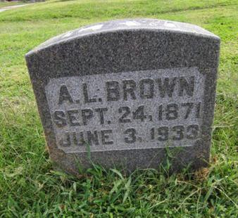 BROWN, A LEW - Dallas County, Iowa | A LEW BROWN