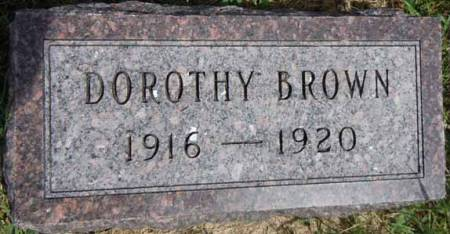 BROWN, DOROTHY - Dallas County, Iowa | DOROTHY BROWN