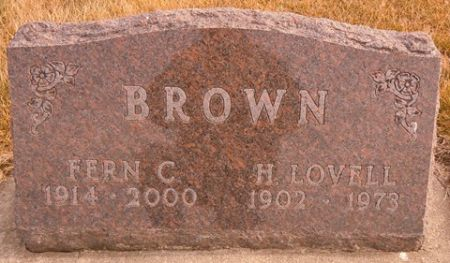 BROWN, H. LOVELL - Dallas County, Iowa   H. LOVELL BROWN