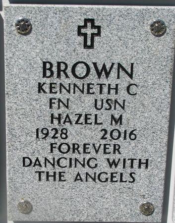 BROWN, HAZEL M - Dallas County, Iowa   HAZEL M BROWN