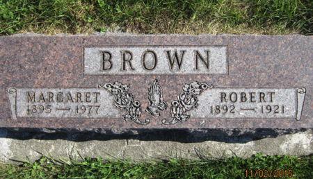 BROWN, MARGARET - Dallas County, Iowa   MARGARET BROWN