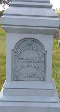 BROWN, EARL H - Dallas County, Iowa   EARL H BROWN