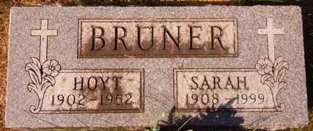 BRUNER, HOYT - Dallas County, Iowa   HOYT BRUNER