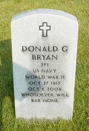 BRYAN, DONALD G. - Dallas County, Iowa | DONALD G. BRYAN