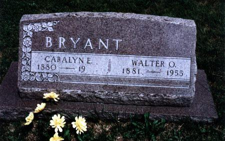 BRYANT BRYANT, CARALYN E. - Dallas County, Iowa | CARALYN E. BRYANT BRYANT