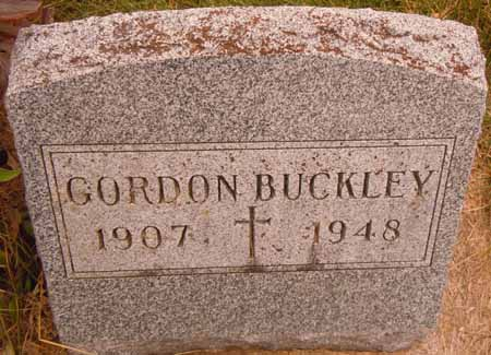 BUCKLEY, GORDON - Dallas County, Iowa   GORDON BUCKLEY