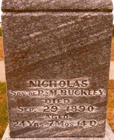 BUCKLEY, NICHOLAS - Dallas County, Iowa | NICHOLAS BUCKLEY