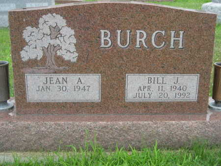 BURCH, BILL J. - Dallas County, Iowa | BILL J. BURCH